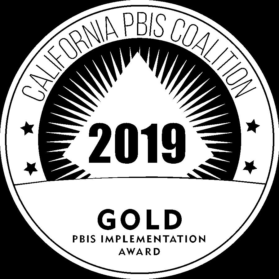 GOLD PBIS AWARD WINNER