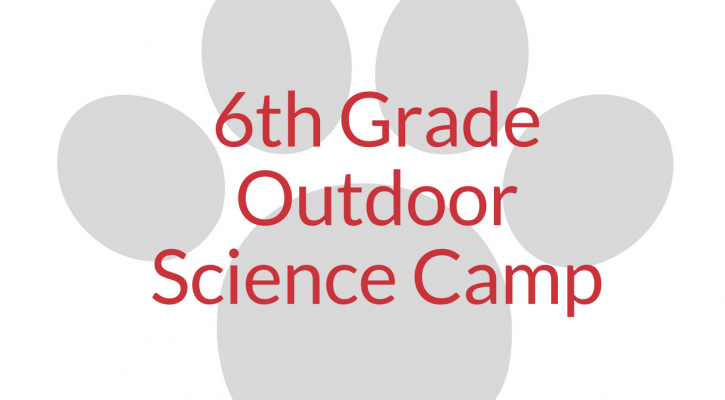 6th grade outdoor science camp